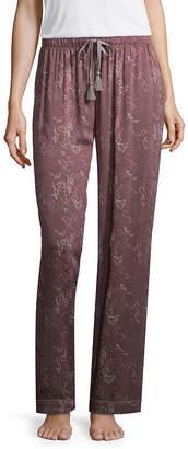 Ambrielle Poplin Star Pajama Pants-Tall