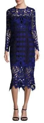 Thurley Nightfall Lace Midi Dress