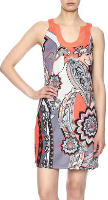 Aryeh Floral Sleeveless Sheath