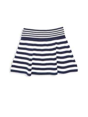 Milly Minis Toddler's, Little Girl's& Girl's Striped Ottoman Skirt
