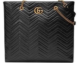 Gucci GG Marmont matelassé large tote
