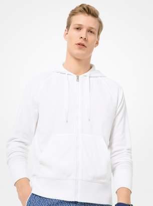 Michael Kors Cotton Zip-Up Hoodie