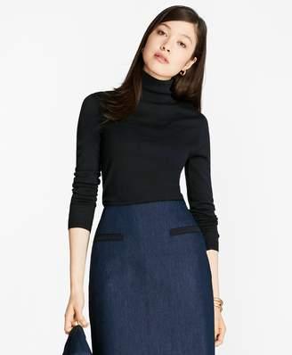 Brooks Brothers Saxxon Wool Turtleneck Sweater