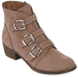 A.N.A Womens Ann Booties Zip