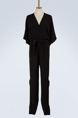 Roland Mouret Millbridge silk crepe jumpsuit