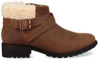 UGG Benson Faux Fur Leather Boots