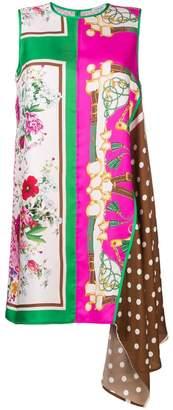 P.A.R.O.S.H. sleeveless printed dress