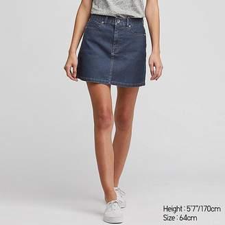 Uniqlo Women's Denim Mini Skirt