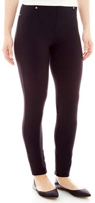 JCPenney MIXIT Mixit Twill Leggings