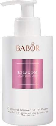 Babor SPA Relaxing Lavendar Mint Calming Shower Oil & Bath for Body 6.75 oz – Best Natural Calming Shower and Bath Oil for Day and Night