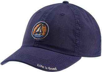 Life is Good Sun-Washed Sailboat Coin Chill Cap