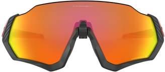 Oakley Flight Jacket Mtblk/Rdlne Sunglasses