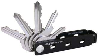 Victorinox KEYPORT Keyport Pivot | Key Organizer + Modular Keychain Multi-Tool + Built-In Lost & Found ALL-IN-ONE (Black)