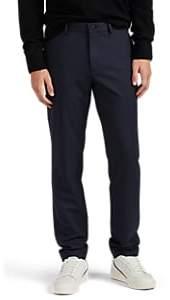 Theory Men's Zaine Gearheart Wool Trousers - Navy