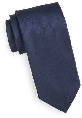HUGO Textured Silk Tie