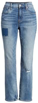 J.Crew Patched & Distressed Slim Boyfriend Jeans