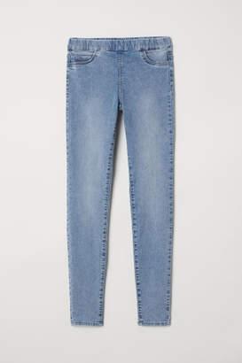 H&M Slim-fit Treggings - Blue