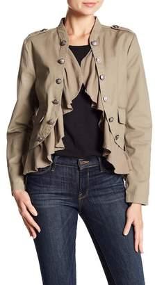 BB Dakota Heidy Ruffle Hem Jacket