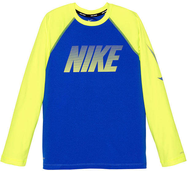Long Sleeve Rash Guard - Boys 8-20