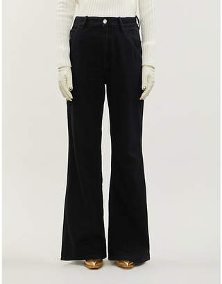 Acne Studios Munro high-rise wide jeans