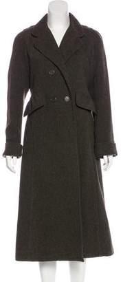 Sonia Rykiel Sonia by long Woven Coat