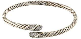 David Yurman Diamond Willow Single Row Bracelet silver Diamond Willow Single Row Bracelet