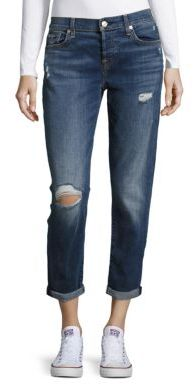 7 For All Mankind Josefina Distressed Jeans
