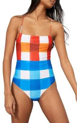 Mara Hoffman Olympia One-Piece Swimsuit