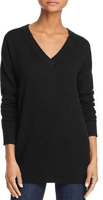 Aqua V-Neck Cashmere Tunic - 100% Exclusive