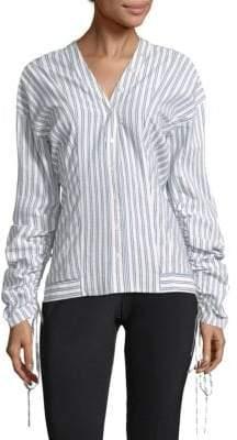 Jason Wu Striped Cotton Shirt
