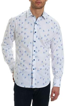 Robert Graham Reid Classic Fit Print Sport Shirt