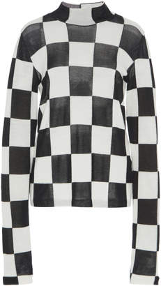 Jil Sander Cotton Wool Long Sleeve T-Shirt