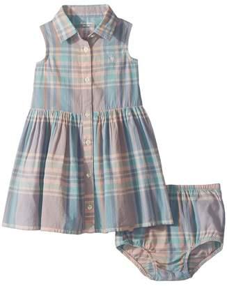 Ralph Lauren Madras Shirtdress Bloomer Girl's Active Sets