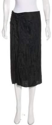 Isabel Marant Ruffle-Trimmed Pencil Skirt