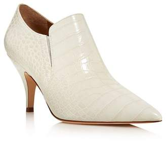 Tory Burch Women's Georgina Pointed Toe Leather High-Heel Booties