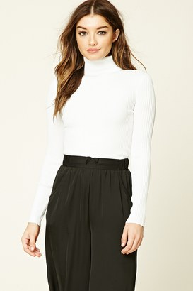 FOREVER 21+ Cropped Turtleneck Sweater $12 thestylecure.com