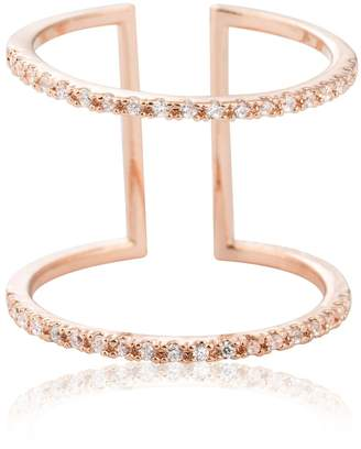 Astrid & Miyu - Double Bewitched Ring in Rose Gold