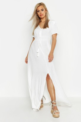 d6dfd7249c3 boohoo White Maxi Day Dresses - ShopStyle Canada
