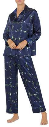 Ralph Lauren Satin Floral PJ Set