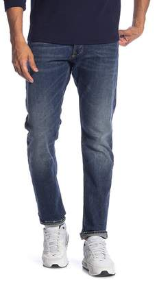 Gilded Age Faded Blue 5 Pocket Stretch Jeans