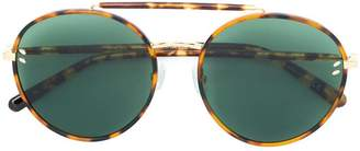 Stella McCartney Eyewear round aviator style sunglasses