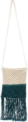 Street Level Crochet Tassle Bag