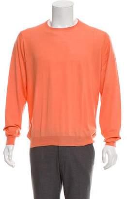 Malo Cashmere & Silk Crew Neck Sweater
