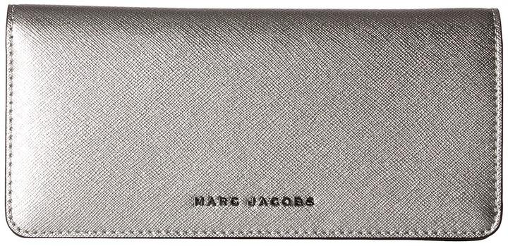 Marc JacobsMarc Jacobs - Saffiano Tricolor Metallic Open Face Wallet Wallet Handbags