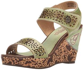 Spring Step L'Artiste by Women's Allura-MNT Wedge Sandal