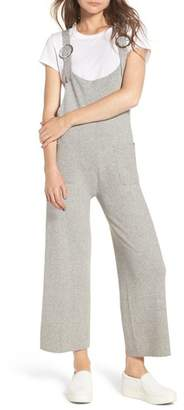 LOST INK Crop Knit Jumpsuit