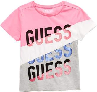 GUESS Big Girls Embellished Colorblocked T-Shirt