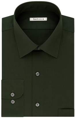 Van Heusen Men's Flex Collar Athletic-Fit Dress Shirt