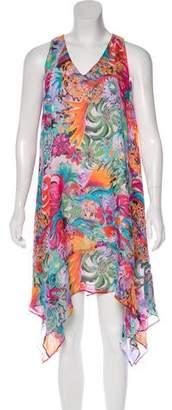 Tsumori Chisato Silk Midi Dress