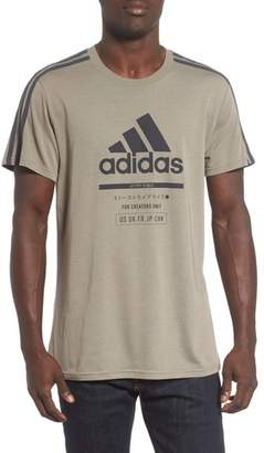 adidas Classic International Crewneck T-Shirt